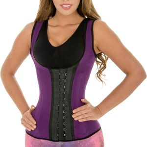 61c1f0111a Fiorella Shapewear Intimates   Sleepwear - Sports Latex Vest Waist Cincher  Trainer Corset 203